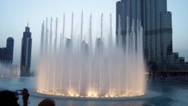 Фонтан Бурж Хaлифа в Дубае