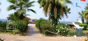 Пляж и остров Клеопатры