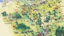 Карты горнолыжного курорта Серфаус