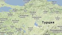 Карта Турции (Турция)