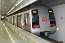 Метро в столице Индии Дели