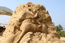 Музей песчаных фигур в Японии