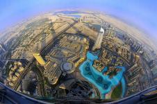 Танцующий фонтан Бурж Хaлифа в Дубае