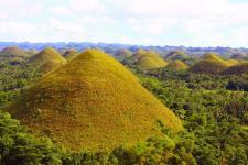 Шоколадные холмы Филиппин