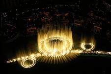 Танцующий фонтан Белладжио (Bellagio) в Лас-Вегасе