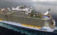 Самый большой пассажирский корабль Оазис морей