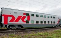 Видео двухэтажного поезда