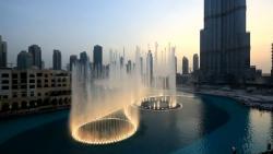 Танцующий фонтан Бурж Хaлифа