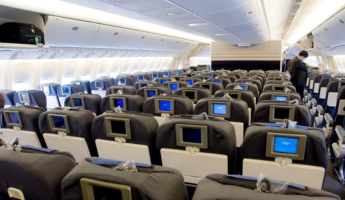 Самолёт боинг 747 фото салона