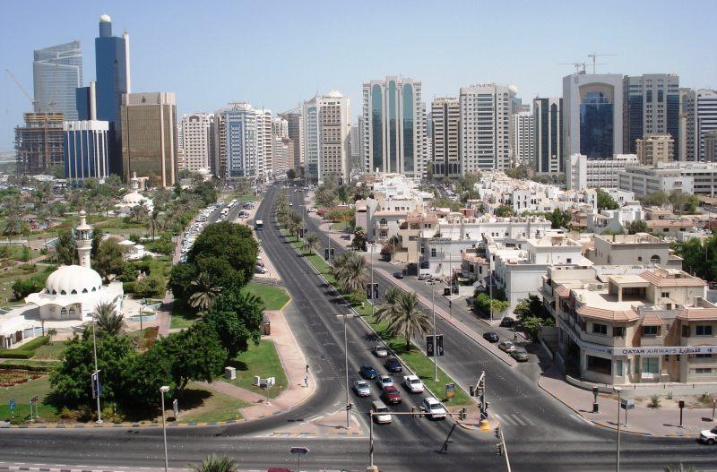 абу-даби фото город