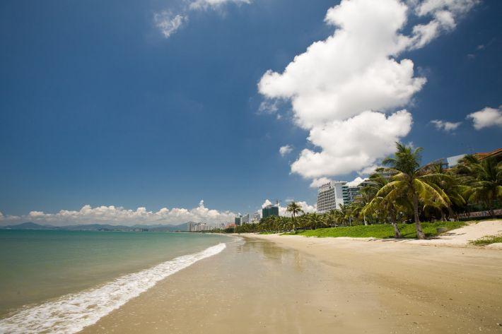пляж Санья
